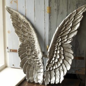 angel wings wall decor art