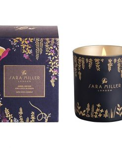sara miller scented candle amber orchid and lotus blossom