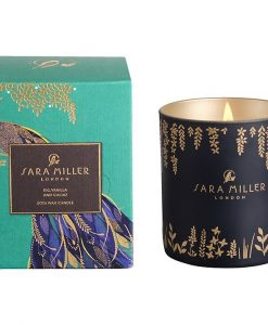 sara miller scented candle fig vanilla and cacao