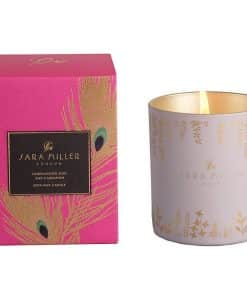 sara miller scented candle sandalwood oud and cardamon